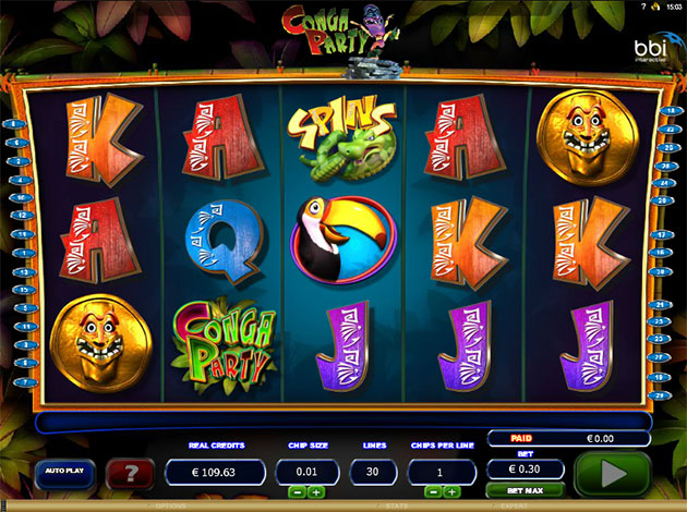 Conga Party Slot Machine Online ᐈ Microgaming™ Casino Slots