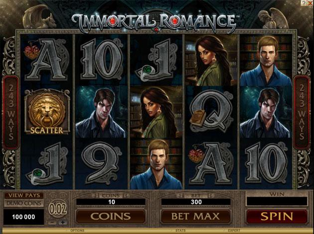 Play Immortal Romance Video Slot Free At Videoslots Com
