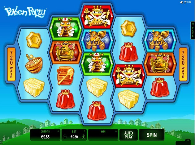 Pollen Party Slot Machine - Play Real Casino Slots Online