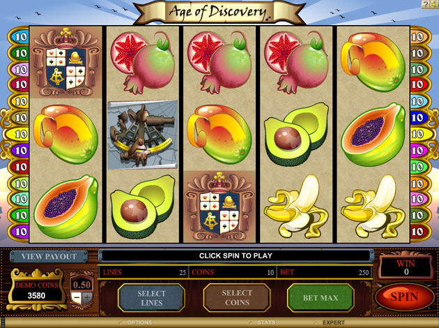 age of discovery casino game