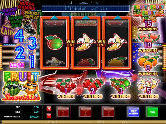 7 slot casino free plays fruit smoothie