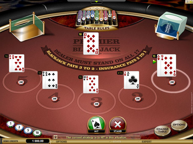 Riverside casino blackjack rules