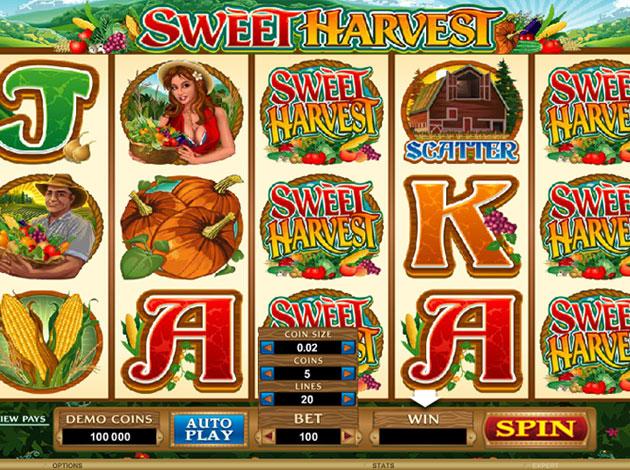 Spiele Sweet Harvest - Video Slots Online