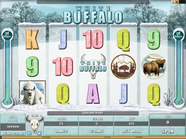 white buffalo slots free play