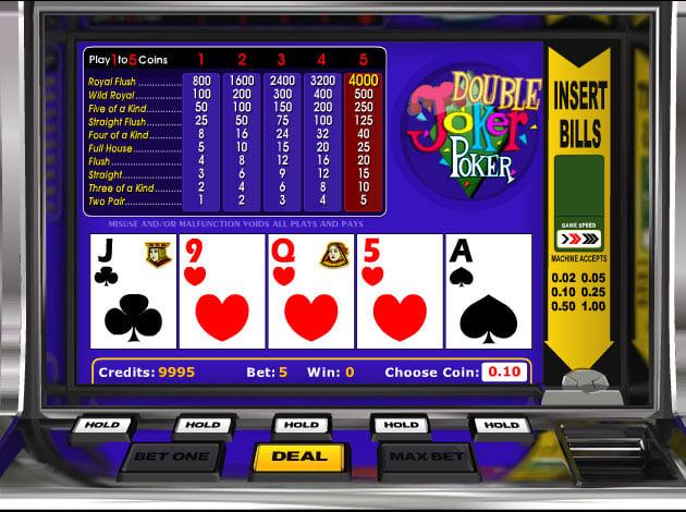 free slots games for fun only joker poker
