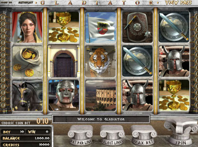 Play Gladiator Scratch Cards at Casino.com