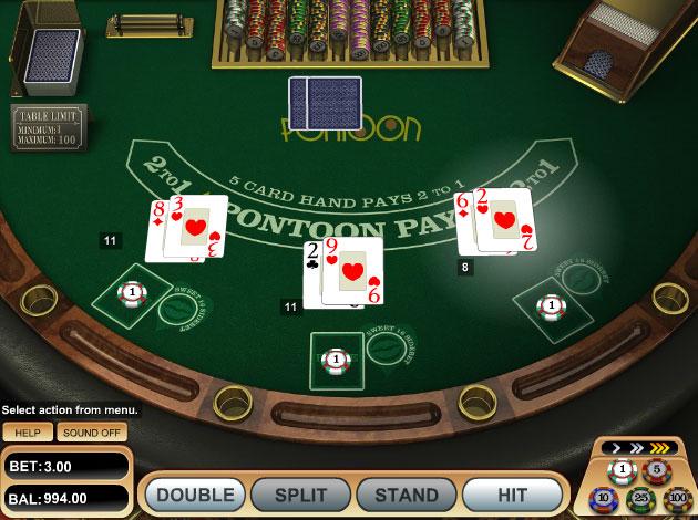 games free 21 poker