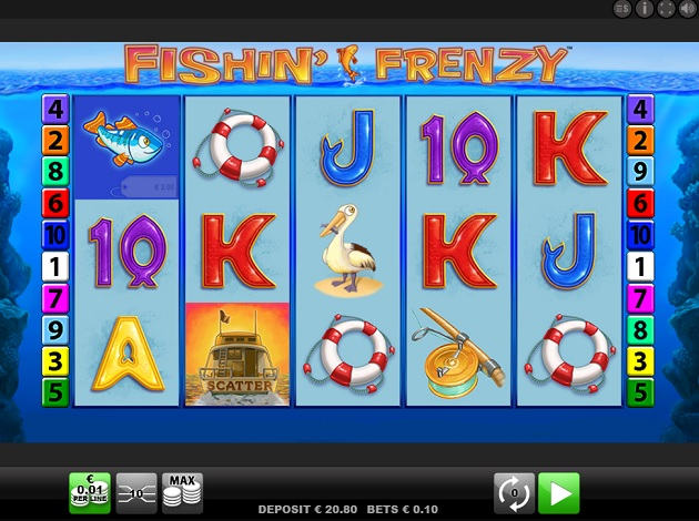 Play Fishin Frenzy Video Slot Free At Videoslots Com