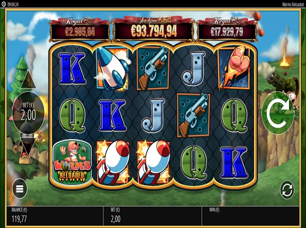 Worms slot game free play r franco slot machines