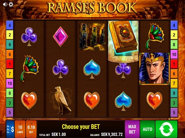 Book of ramses slot play poker free win cash