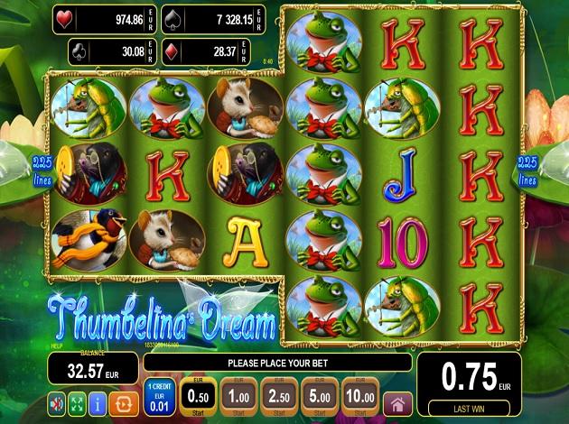 Spiele ThumbelinaS Dream - Video Slots Online