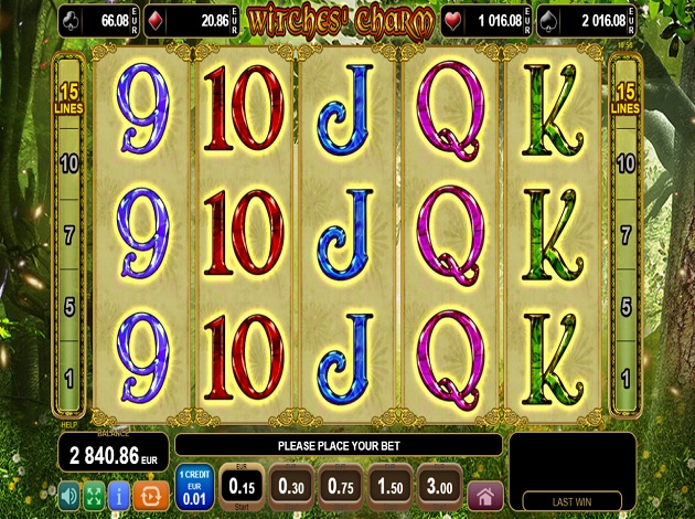 Spiele Charms And Witches - Video Slots Online