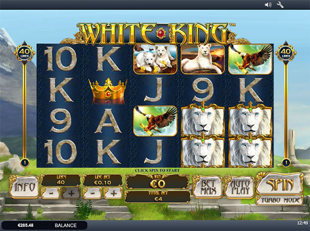 Play White King Online Slots at Casino.com Canada