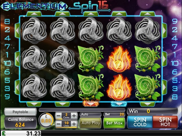 Elementium Spin 16 Slots - Play Now for Free or Real Money