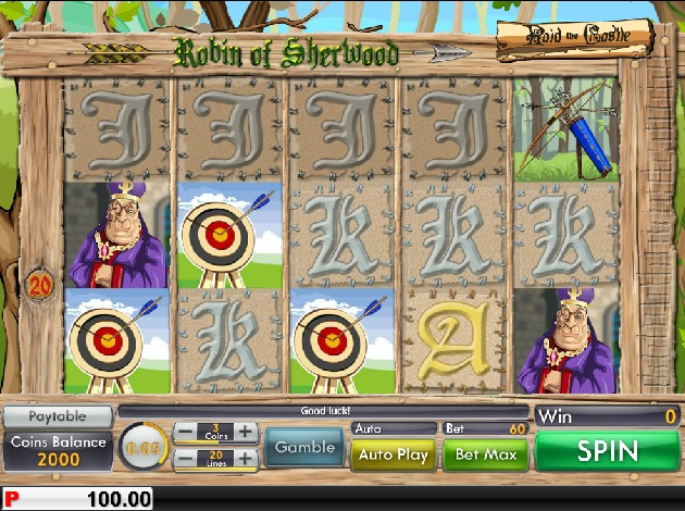 Robin of Sherwood Slots - Play this Video Slot Online