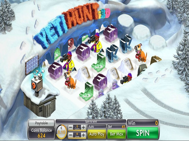 Yeti Hunt i3D Slots - Play Online or on Mobile Now