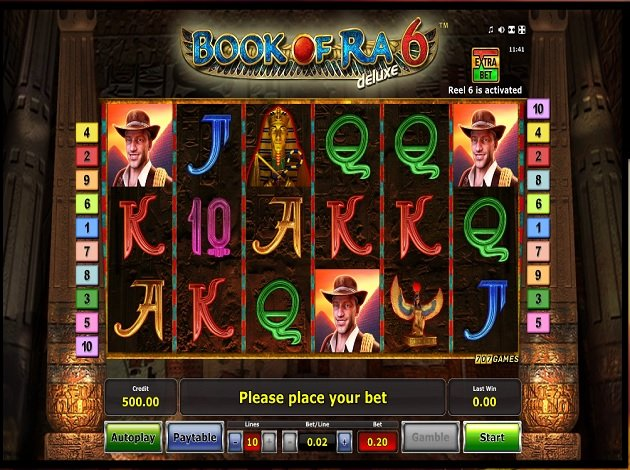 slot game free book of ra