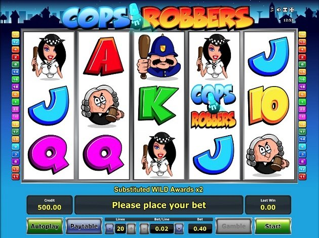 Free slot cops and robbers