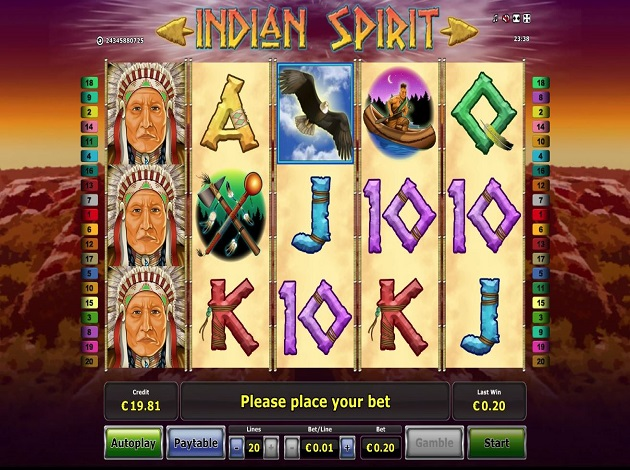 Free indian spirit casino games slots of vegas no deposit bonus code 2016