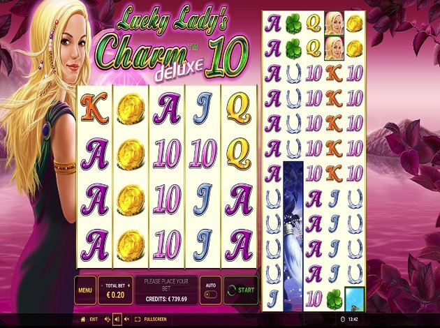 Play Lucky Ladys Charm Deluxe 10 Video Slot Free At Videoslots Com