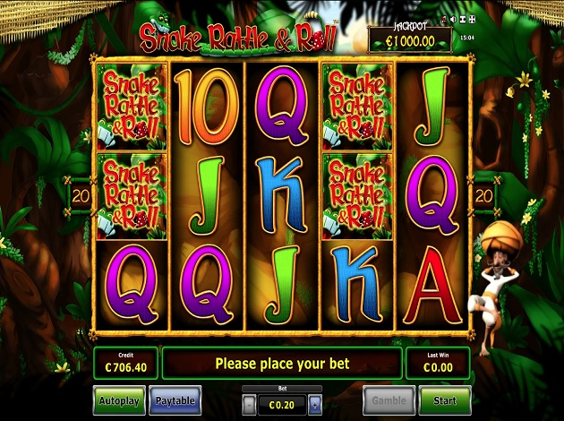 Spiele Snake Rattle N Roll - Video Slots Online