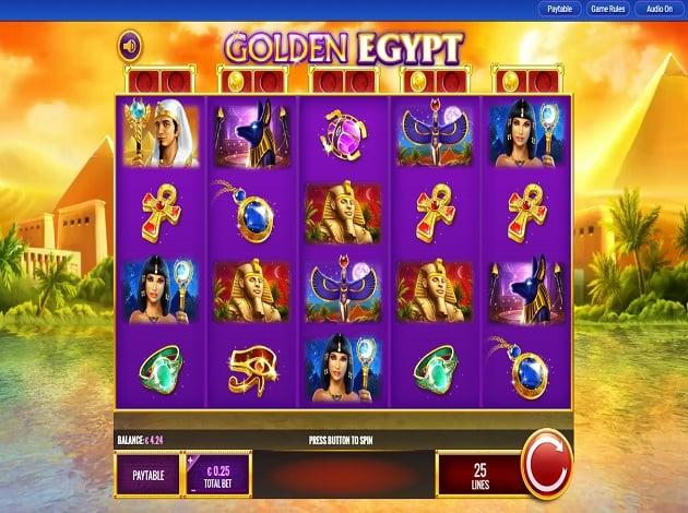 Play Golden Egypt Video Slot Free At Videoslots Com