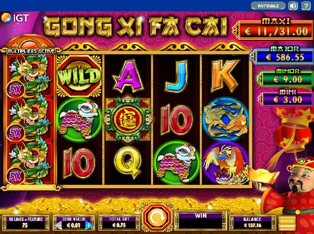 Gong Xi Fa Cai Slot Online