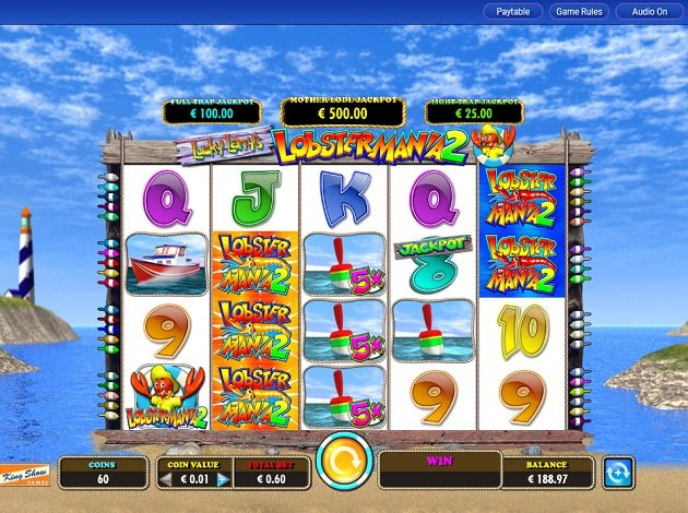 igt free slots lucky larrys lobstermania