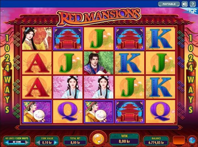 Play Red Mansions Video Slot Free At Videoslotscom