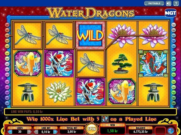 water dragons slot free play