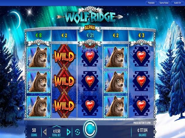 Play Wolf Ridge Video Slot Free at Videoslots com