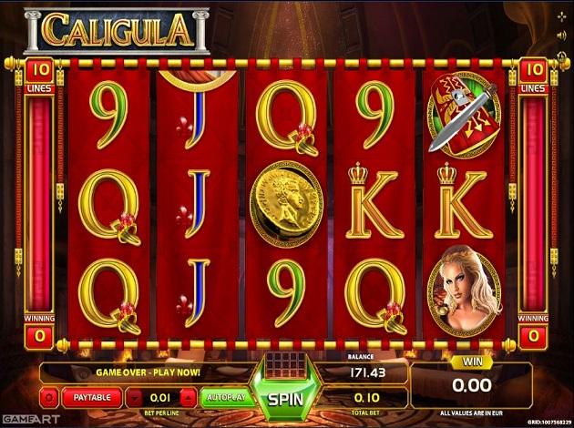 Казино калигула онлайн производители казино вулкан