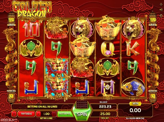 Golden Dragon - Rizk Casino