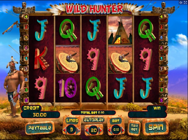 Wild Hunter Slot - Play Playson Games for Fun Online
