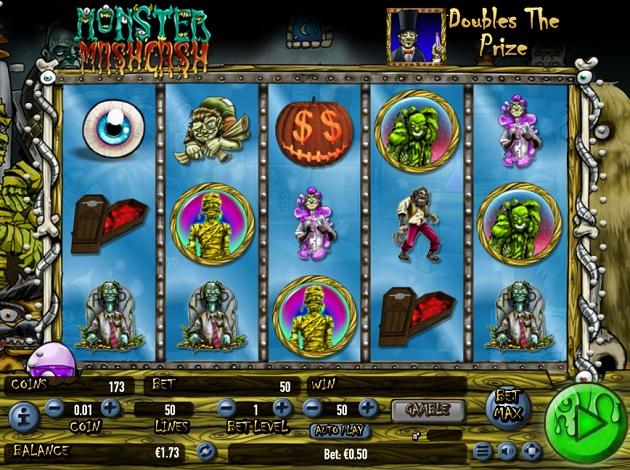 Monster Mash Cash No Download Slot