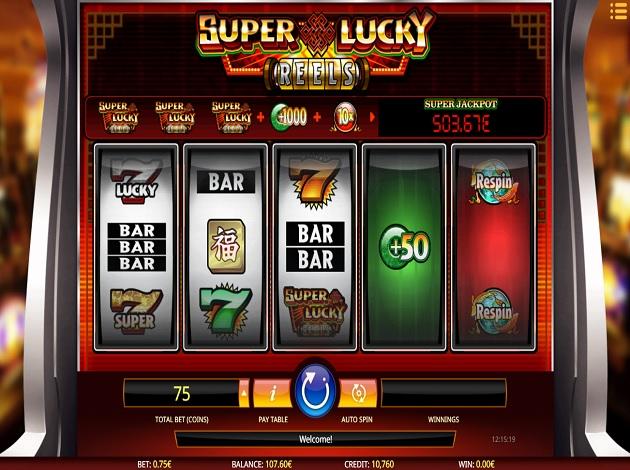 super lucky casino video poker