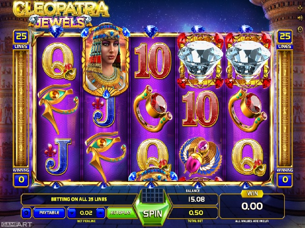 Free Casino Video Slots Cleopatra
