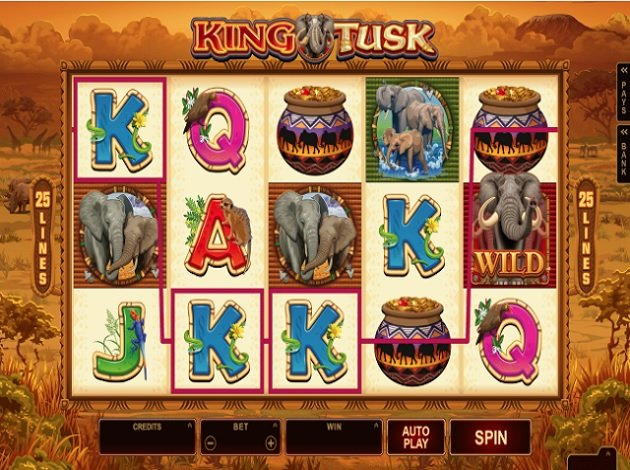 King tusk online slot best western casino royale