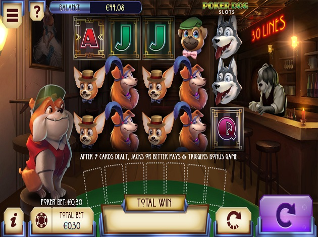 Play Poker Dogs Video Slot Free At Videoslots Com