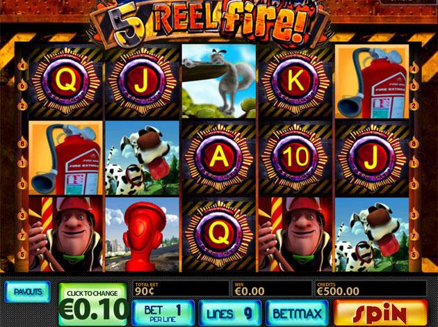 Drive 5reel fire multislot casino slots express