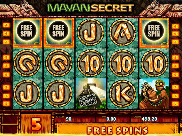Mayan Secret Slot - Play Free Multislot Games Online