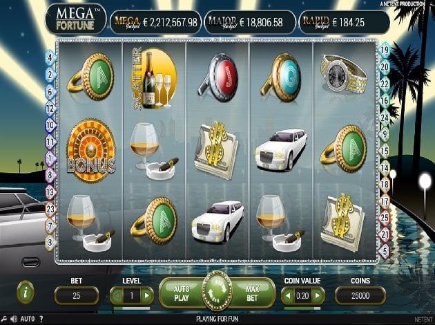 free casino mega slots
