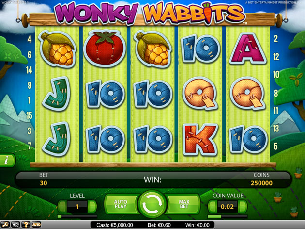 online play casino wonky