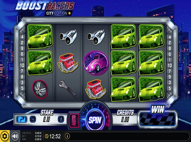 Spiele Boost Racers City Edition - Video Slots Online