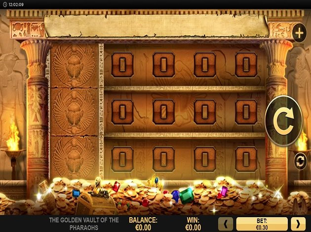 Spiele The Golden Vault Of The Pharaohs - Video Slots Online