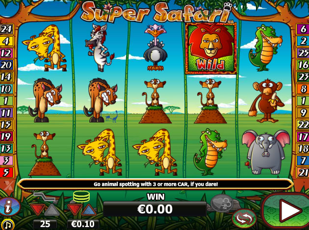 Super Slots Safari