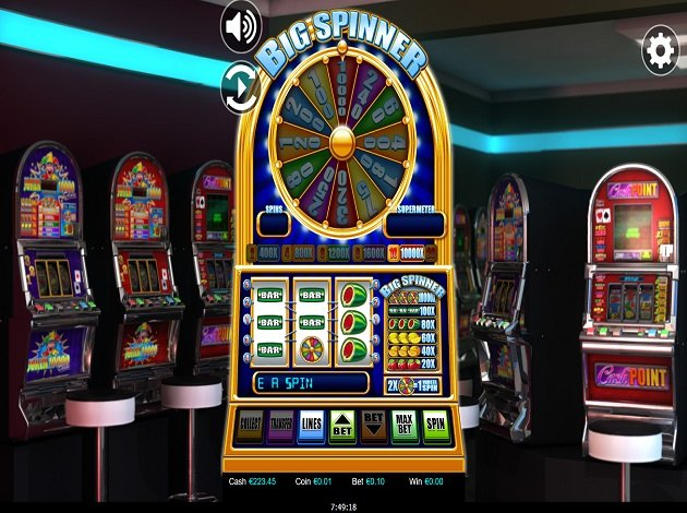 Spooky spins slot machine for sale