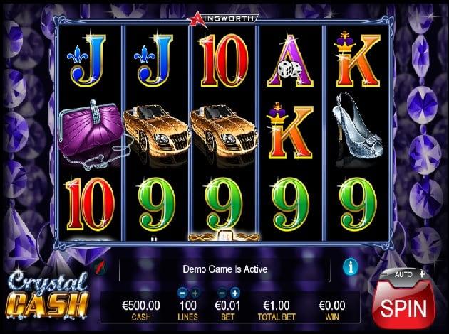 Play Crystal Cash Video Slot Free at Videoslots com