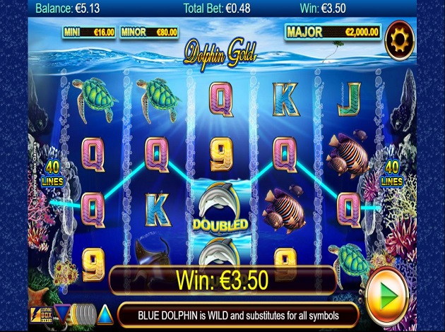 Stellar Jackpots With Dolphin Gold Slot - Play for Free Now