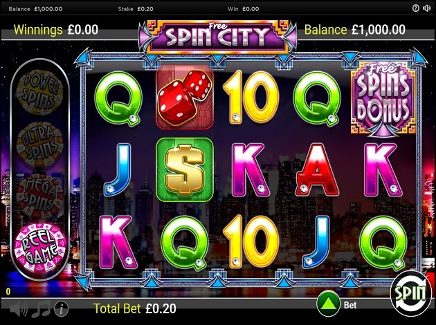 Play Free Spin City Video Slot Free at Videoslots.com